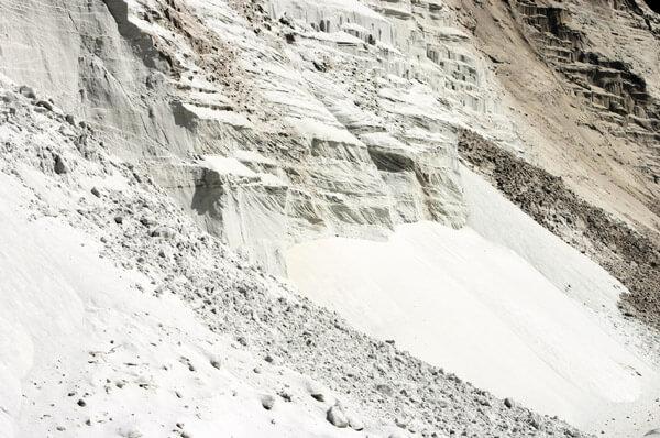 Quartz sand mine
