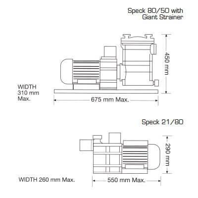 Speck8050 2180 line
