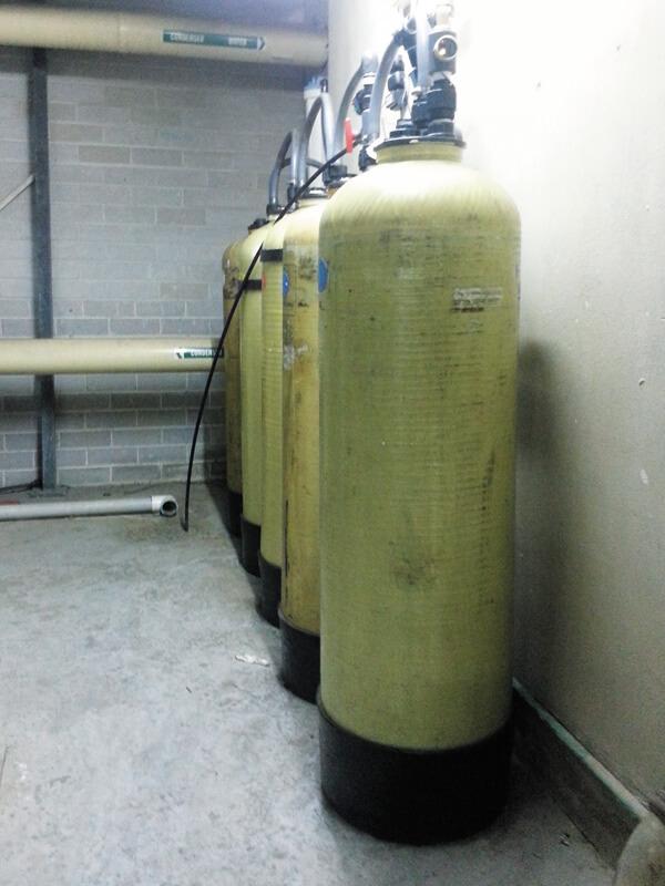DI – 5 tank filter system